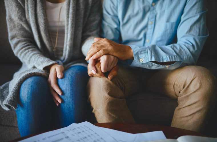 couple attends addictions counselling session