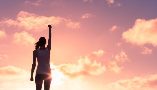 woman achieving goals with the help of a life coach