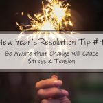 Celebrating and setting new year's resolutions